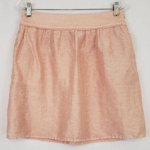 Loft Women's Skirt A-Line Pink Size 4